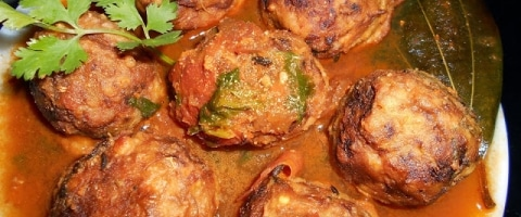 Kathal Kofta Recipe - Jackfruit Kofta Curry Recipe