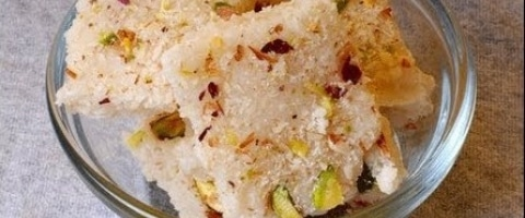 Coconut sweet dish
