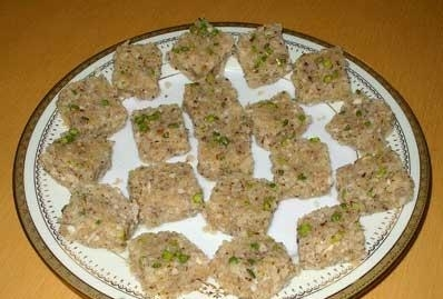 Nariyal Pag Recipe (Coconut sweet dish)