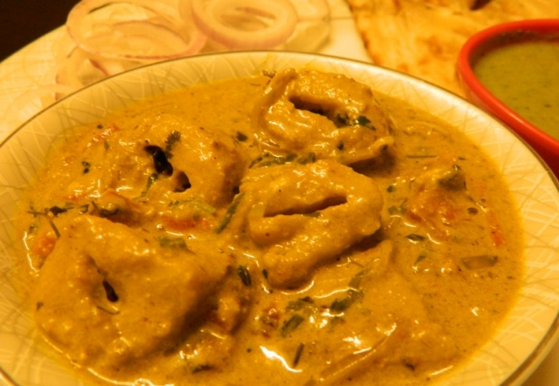 Soya Chaap Recipe with Gravy
